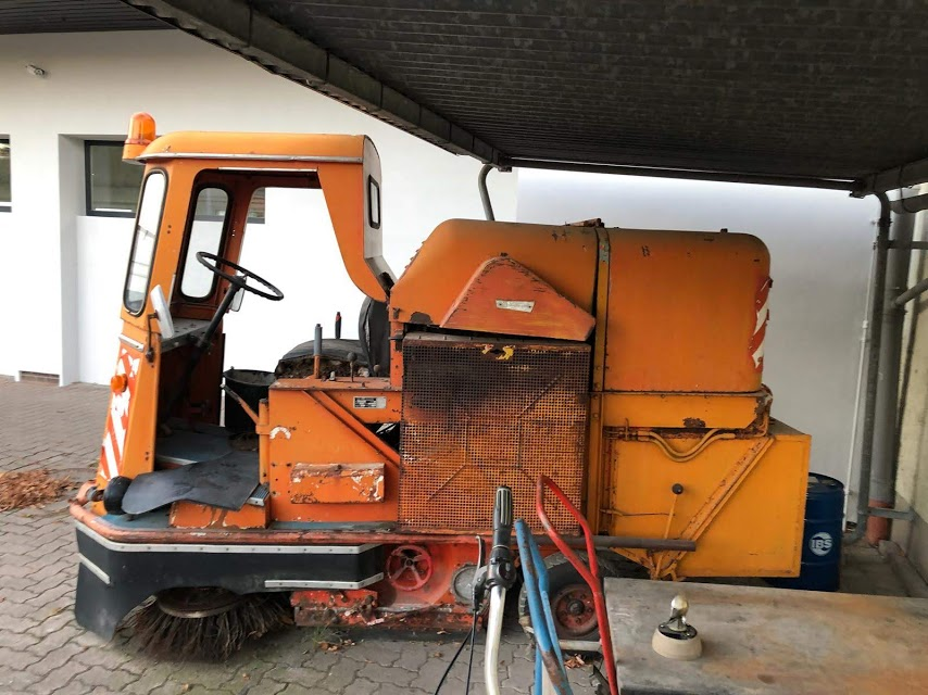 65 industrie road sweeper