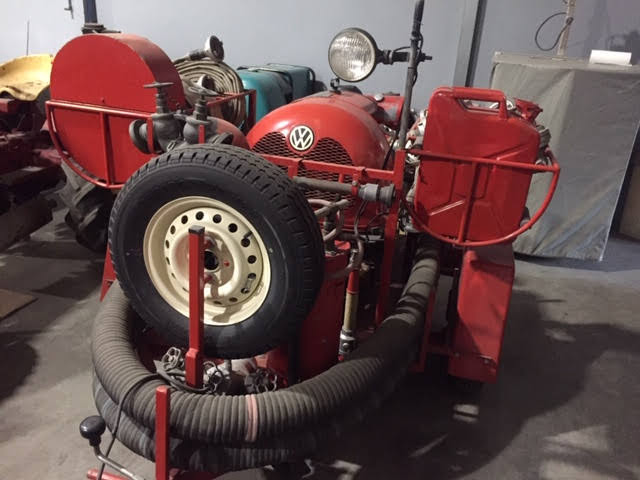 vw water pump fire dpt trailer